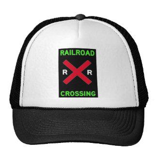 Railbuffs Railroad Crossing Wear Hats
