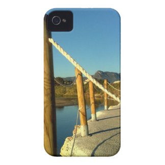 RAILING 4 WOODS AND CORD iPhone 4 COVER
