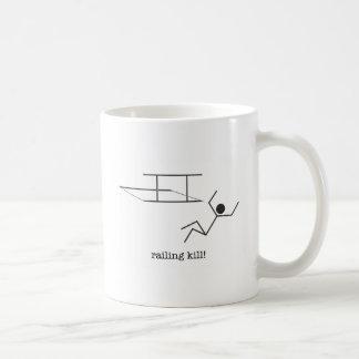 railing kill! mug