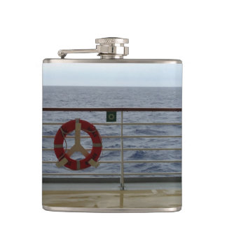 Railing of Cruise Ship Hip Flask