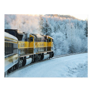 Railroad Alaska Postcard