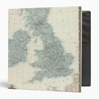 Railroad and Canals of British Isles Binder
