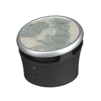 Railroad and Canals of British Isles Bluetooth Speaker