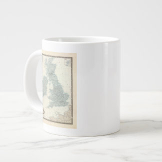 Railroad and Canals of British Isles Giant Coffee Mug