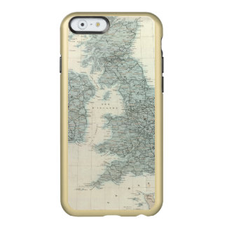 Railroad and Canals of British Isles Incipio Feather® Shine iPhone 6 Case