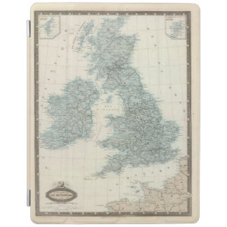 Railroad and Canals of British Isles iPad Cover