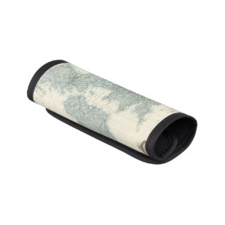Railroad and Canals of British Isles Luggage Handle Wrap