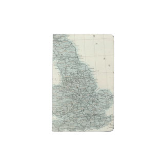 Railroad and Canals of British Isles Pocket Moleskine Notebook