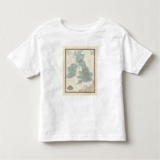 Railroad and Canals of British Isles Shirt