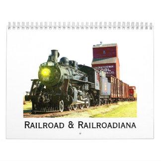 Railroad And Railroadiana Calendar