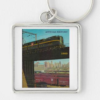 Railroad Annual Report Premium KeyChain