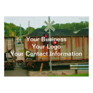 Railroad Avenue Large Business Cards (Pack Of 100)
