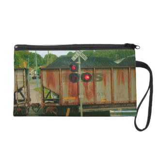 Railroad Avenue Wristlet Purse