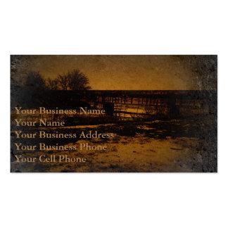 RAILROAD BRIDGE BUSINESS CARD
