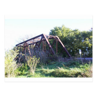 Railroad Bridge Postcard