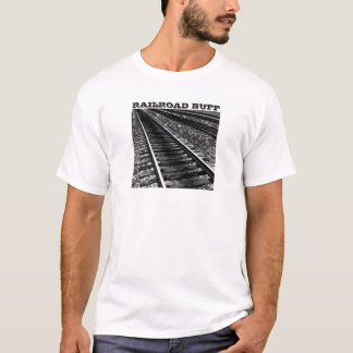 Railroad Buff And Train Tracks T-Shirt