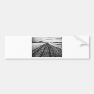 Railroad Bumper Sticker