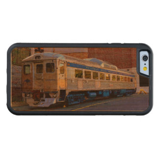 Railroad Car (Computerized Oil Rendition) Carved Cherry iPhone 6 Bumper Case