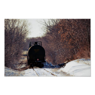 railroad car posters