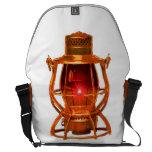 Railroad Copper Lantern Messenger Bag