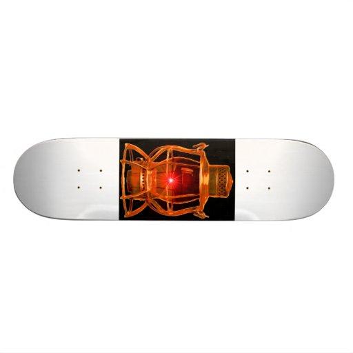 Railroad Copper Lantern Skateboard