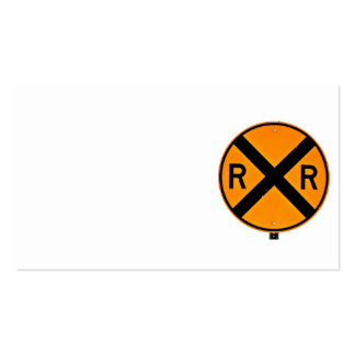 Railroad Crossing Business Card