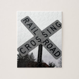 Railroad Crossing Jigsaw Puzzle