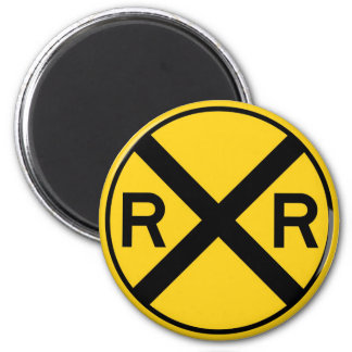 Railroad Crossing Magnet