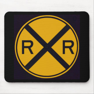 Railroad Crossing Mouse Pad