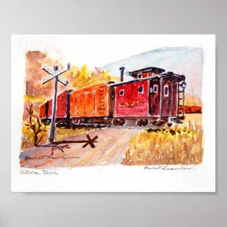 railroad-crossing poster