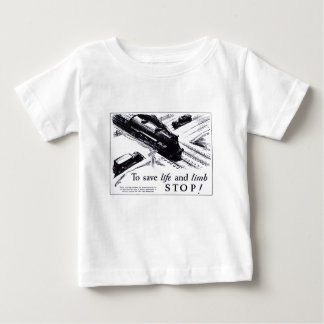Railroad Crossing Safety 1906 Baby T-Shirt