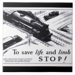 Railroad Crossing Safety 1906 Tiles