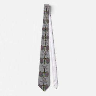 Railroad Crossing Sign Necktie, Unique Art Design Tie