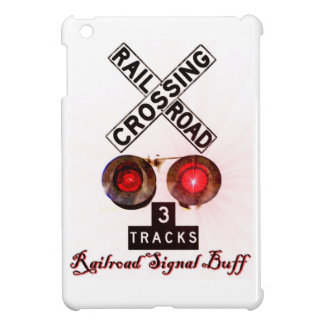 Railroad Crossing Signal Buff iPad Mini Cases