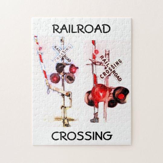 Railroad Crossing Signal Puzzle