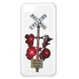 Railroad Crossing Signals Cover For iPhone 5C