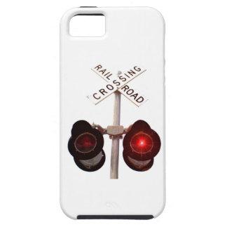 Railroad Crossing Signals iPhone SE/5/5s Case