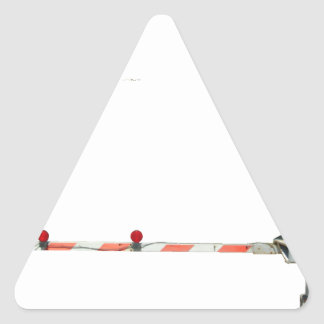 Railroad Crossing Triangle Sticker