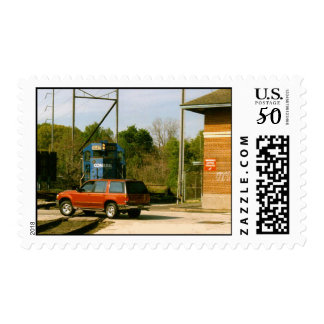 Railroad Crossings ! Why Don't They Stop ? Postage
