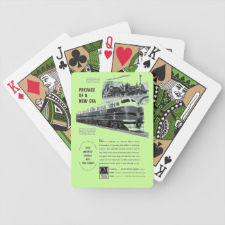 Railroad Diesel 1948 Electro Motive Bicycle Playing Cards