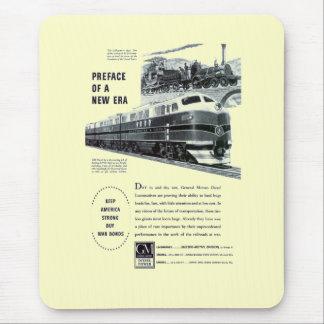 Railroad Diesel 1948 Electro Motive - Mousepads