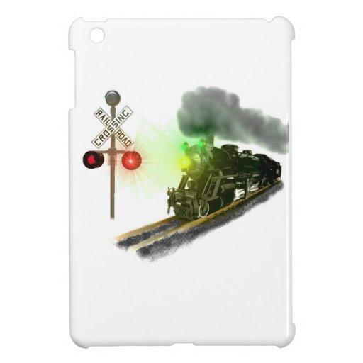Railroad Digital Art Cover For The iPad Mini