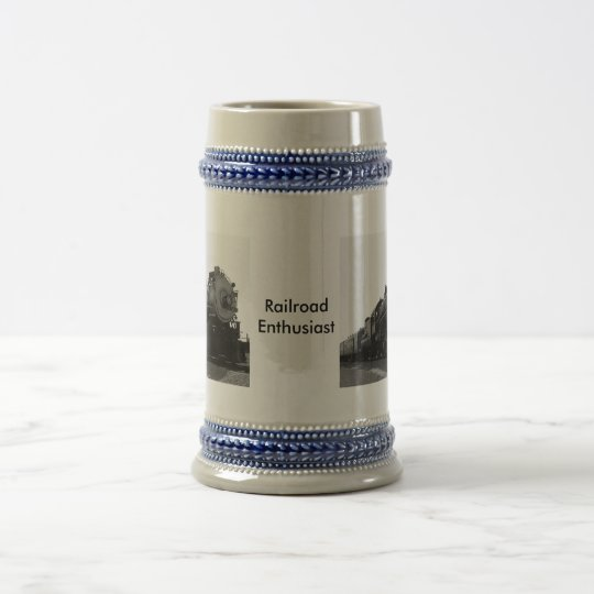 Railroad Enthusiast Beer Stein