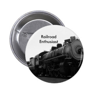 Railroad Enthusiast Button