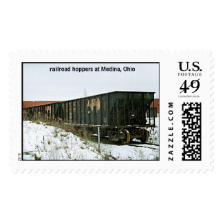 railroad hoppers postage