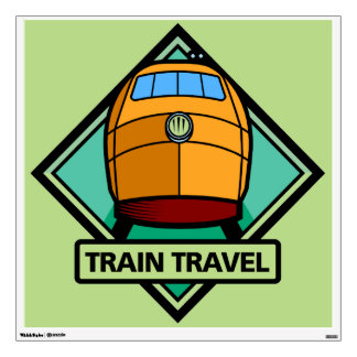 Railroad Locomotive Custom Wall Decal