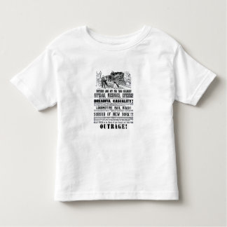 Railroad Outrage A Dreadful Casuality 1864 Toddler T-shirt