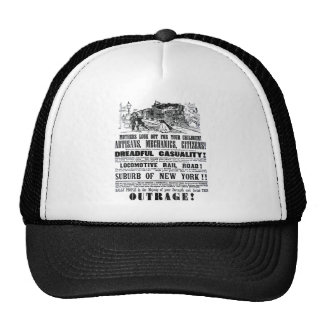 Railroad Outrage A Dreadful Casuality 1864 Trucker Hat