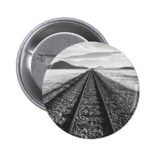 Railroad Pinback Button