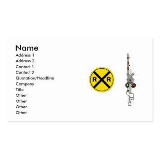 Railroad Professional or Railfan Business Card